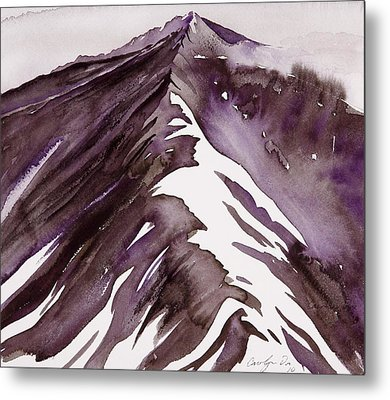 Camp Creek Ridge Metal Print by Carolyn Doe