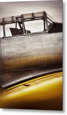 Canary Metal Print by Pair of Spades