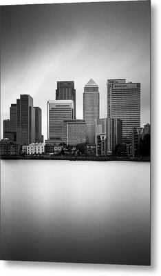 Canary Wharf II, London Metal Print by Ivo Kerssemakers