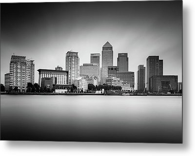 Canary Wharf, London Metal Print by Ivo Kerssemakers
