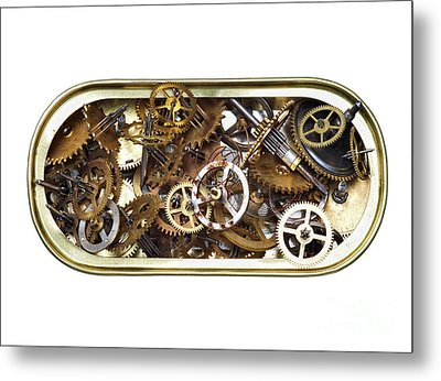 Canned Time Metal Print by Michal Boubin