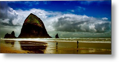 Cannon Beach At Dusk IIi Metal Print by David Patterson