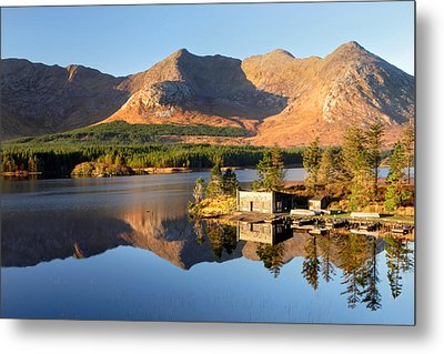 Canoe Club In Connemara Ireland Metal Print by Pierre Leclerc Photography