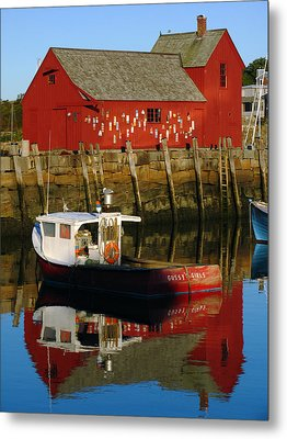 Cape Ann Photography Metal Print by Juergen Roth