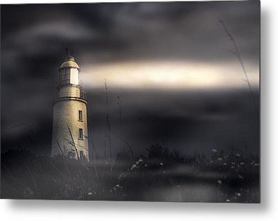 Cape Bruny Lighthouse Metal Print by Jorgo Photography - Wall Art Gallery