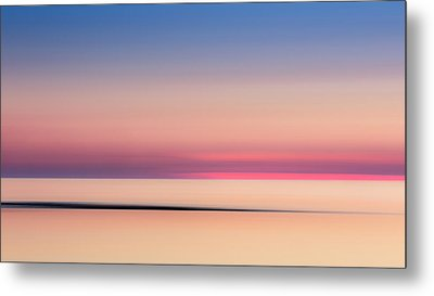 Cape Cod Sunset Colors Metal Print by Bill Wakeley