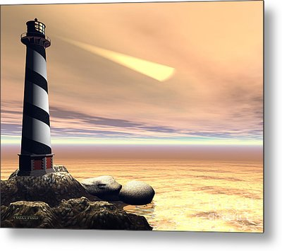 Cape Lookout Metal Print by Corey Ford