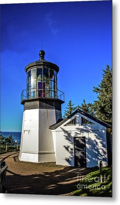 Cape Meares Lighthouse Metal Print by Jon Burch Photography