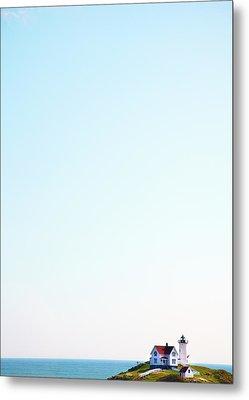 Cape Neddick nubble Lighthouse Metal Print by Thomas Northcut