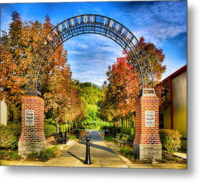 Caperton Trail Metal Print by Steven Ainsworth