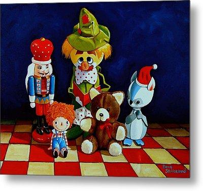 Captain Candycorns Dollhouse Choir Metal Print by Doug Strickland