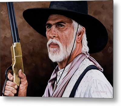 Captain Woodrow F Call Metal Print by Rick McKinney