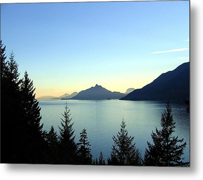 Captivating Howe Sound Metal Print by Will Borden