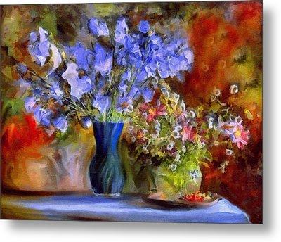 Caress Of Spring - Impressionism Metal Print by Georgiana Romanovna