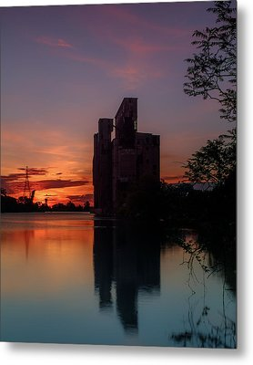 Cargill Superior Twilight No 2 Metal Print by Chris Bordeleau