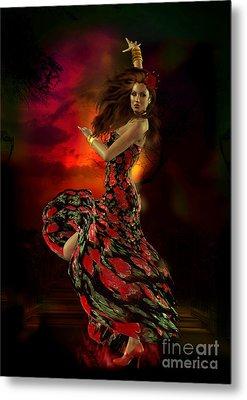 Carmen Metal Print by Shanina Conway