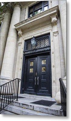 Carnegie Building Penn State  Metal Print by John McGraw