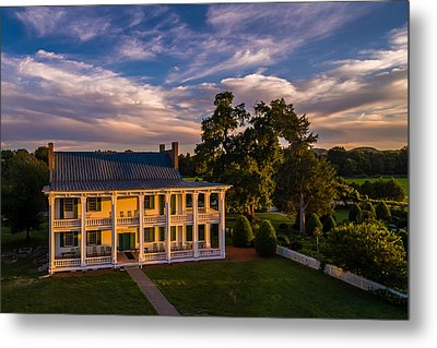Carnton At Sunset Metal Print by Ken Everett