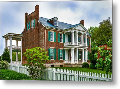 Carnton Plantation Metal Print by Richard Marquardt