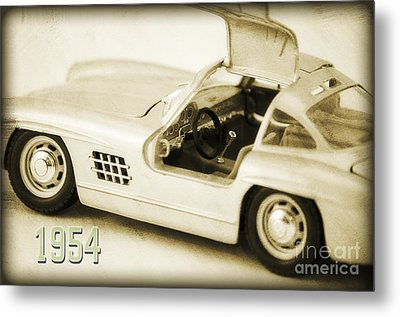 Cars 1954 II Metal Print by Angela Doelling AD DESIGN Photo and PhotoArt