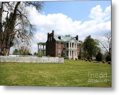 Carter House And Carnton Plantation Metal Print by John Black