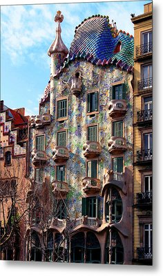 Casa Batllo Metal Print by Vincent Abbey