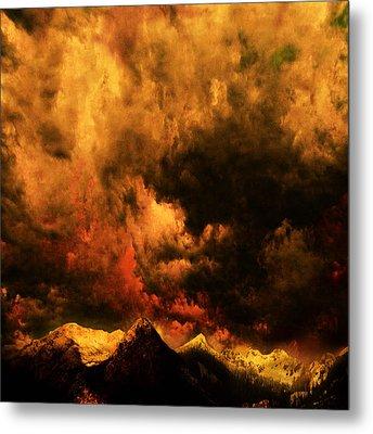 Cascade Storm Metal Print by Jeff Burgess