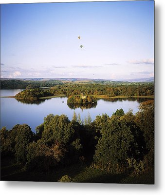 Castleisland Lough Key Forest Park Metal Print by The Irish Image Collection