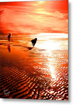 Catch Me If You Can Metal Print by Suni Roveto