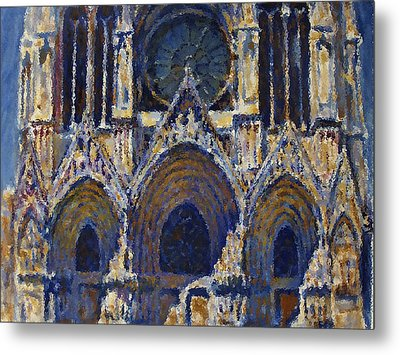 Cathedral 1 Metal Print by Valeriy Mavlo