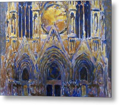 Cathedral 2 Metal Print by Valeriy Mavlo