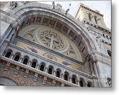 Cathedral Of St Vincent De Paul I Metal Print by Irene Abdou