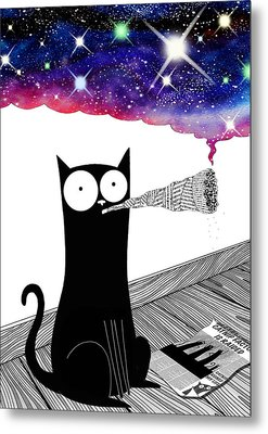 Catnip  Metal Print by Andrew Hitchen