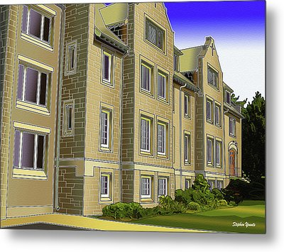 Catonsville United Methodist Church Metal Print by Stephen Younts