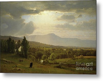 Catskill Mountains Metal Print by George Inness