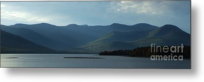 Catskill Mountains Panorama Photograph Metal Print by Kristen Fox