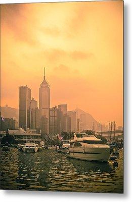 Causeway Bay At Sunset Metal Print by Loriental Photography