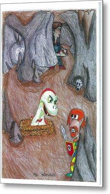 Cave Metal Print by Jayson Halberstadt