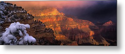 Canyon Dawn Metal Print by Mikes Nature