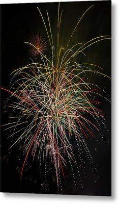 Celebrating The 4th Metal Print by Garry Gay