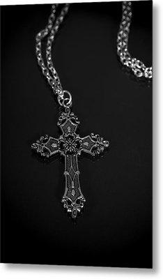 Celtic Cross Metal Print by Joana Kruse