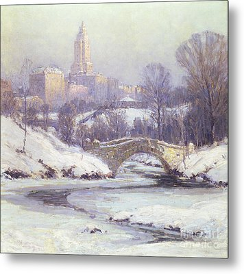 Central Park Metal Print by Colin Campbell Cooper