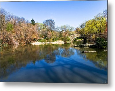 Central Park In New York City Metal Print by Svetlana Sewell
