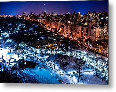 Metal Print featuring the photograph Central Park by M G Whittingham