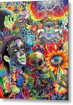 Cerebral Dysfunction Metal Print by Callie Fink