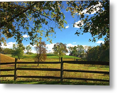 Changing Seasons Metal Print by Bill Cannon