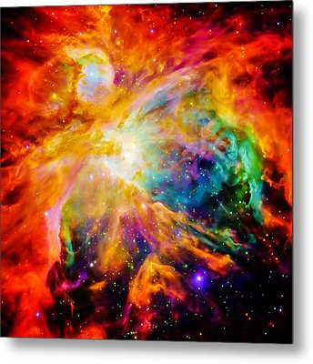 Chaos In Orion Metal Print by Britten Adams