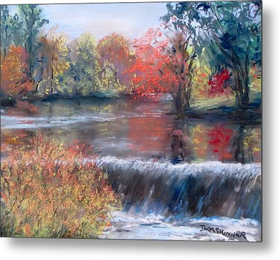 Charles River, Natick Metal Print by Jack Skinner