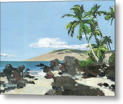 Charley Young Beach Morning Metal Print by Stacy Vosberg