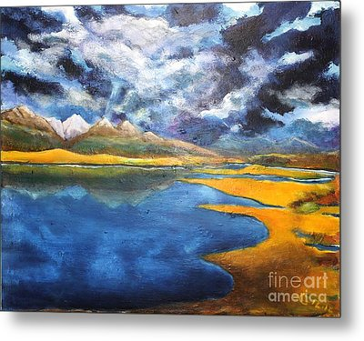 Charlo Morning Metal Print by Chaline Ouellet